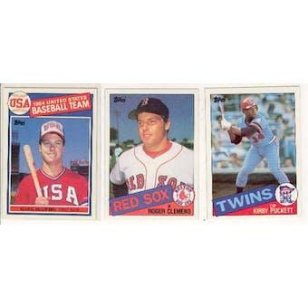 1985 Topps Baseball Complete Set (NM-MT)