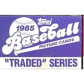 1985 Topps Traded & Rookies Baseball Factory Set