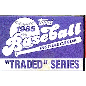 1985 Topps Traded & Rookies Baseball Factory Set