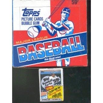 1985 Topps Baseball Cello Box