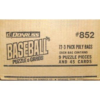 1985 Donruss Baseball Rack Case
