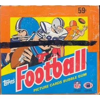 1985 Topps Football Cello Box