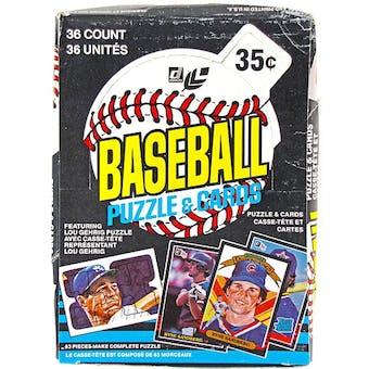 1985 Leaf Baseball Wax Box