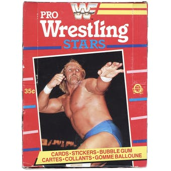 1985 O-Pee-Chee WWF Series 1 Wrestling Wax Box (Hulk Hogan Rookie)
