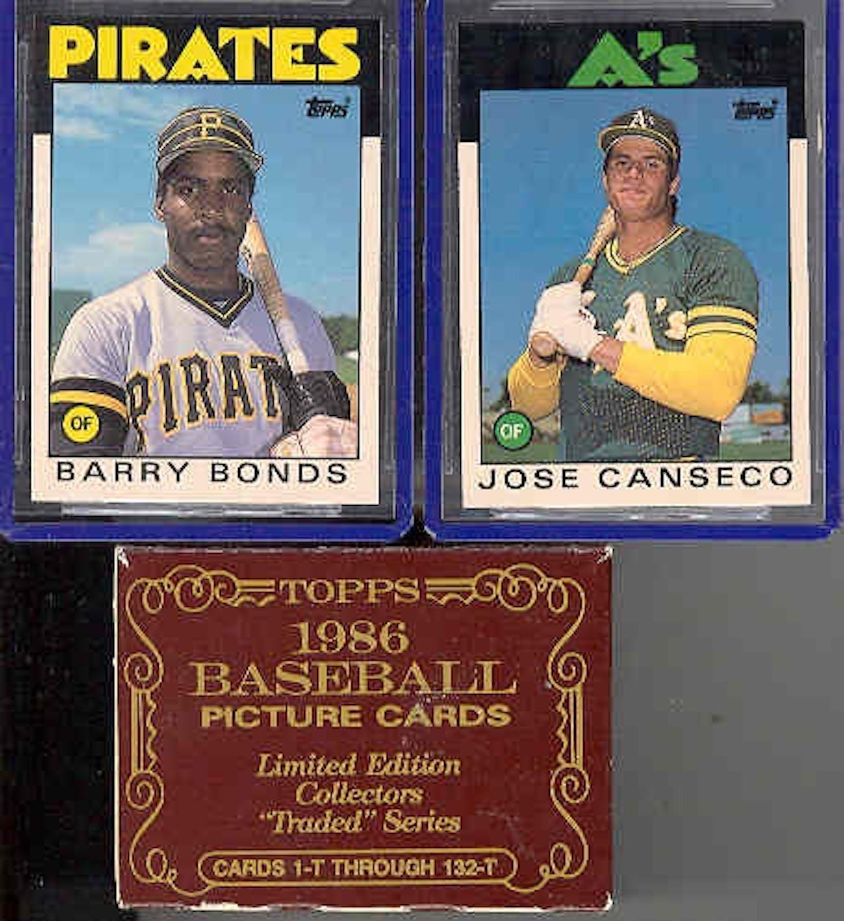 1986 Topps Traded Tiffany Baseball Complete Set Da Card