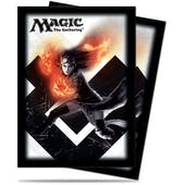 Ultra Pro Magic M15 Chandra, Pyromaster Standard Sized Deck Protectors (80 ct)