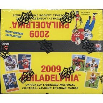 2009 Upper Deck Philadelphia Football 24-Pack Box