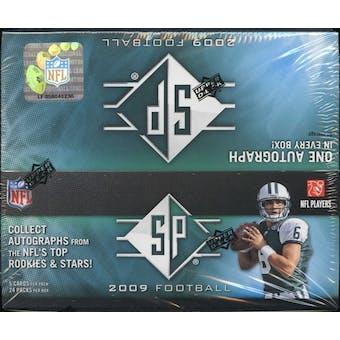 2009 Upper Deck SP Football 24-Pack Box