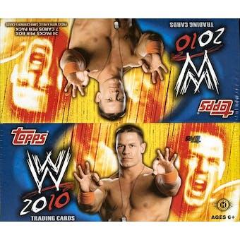 2010 Topps WWE Wrestling Hobby Box