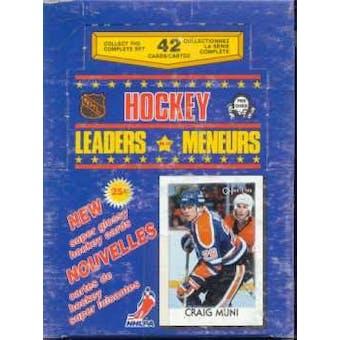 1986/87 O-Pee-Chee Leaders Hockey Box