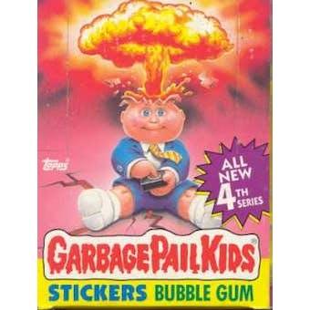 Garbage Pail Kids Series 4 Wax Box (1985-88 Topps)
