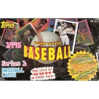1995 Topps Series 1 Baseball Jumbo Box
