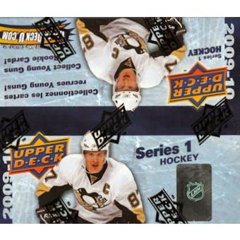 2009/10 Upper Deck Series 1 Hockey 24-Pack Box