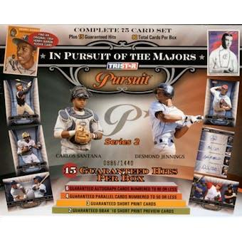 2010 TriStar Pursuit Series 2 Baseball Hobby Box
