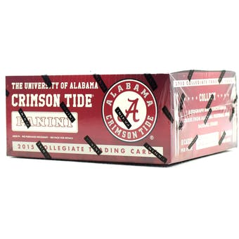 2015 Panini Alabama Crimson Tide Multi-Sport 24-Pack Box