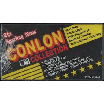 1991 Conlon Collection Baseball Factory Set