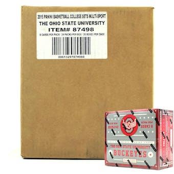 2015 Panini Ohio State Buckeyes Multi-Sport 24-Pack 20-Box Case