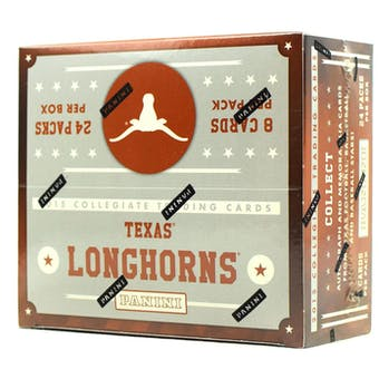 2015 Panini Texas Longhorns Multi-Sport 24-Pack Box