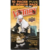 2008/09 Upper Deck Victory Hockey 11 Pack Box