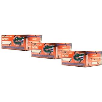 2015 Panini Florida Gators Multi-Sport 24-Pack Box (Lot of 3)