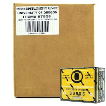 2015 Panini Oregon Ducks Multi-Sport 24-Pack 20-Box Case