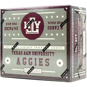 2015 Panini Texas A&M Collegiate Multi-Sport 24-Pack Box