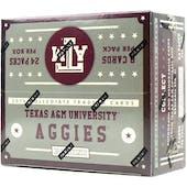2015 Panini Texas A&M Aggies Multi-Sport 24-Pack Box