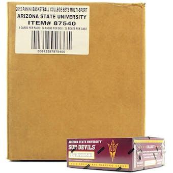 2015 Panini Arizona State Sun Devils Multi-Sport 24-Pack 20-Box Case