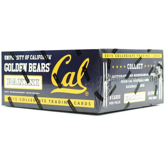 2015 Panini California Golden Bears Multi-Sport 24-Pack Box