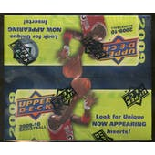 2009/10 Upper Deck Basketball 24-Pack Box - Stephen Curry, James Harden!!!