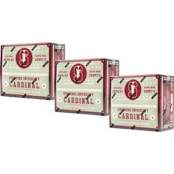 2015 Panini Stanford Cardinal Multi-Sport 24-Pack Box (Lot of 3)