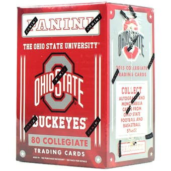 2015 Panini Ohio State Buckeyes Multi-Sport Blaster Box
