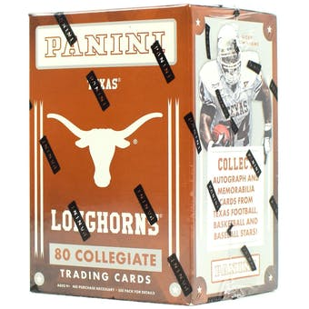 2015 Panini Texas Longhorns Multi-Sport Blaster Box