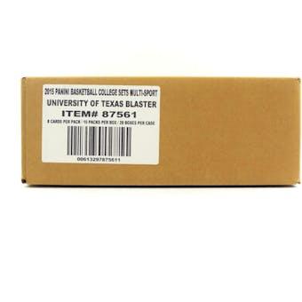 2015 Panini Texas Collegiate Multi-Sport Blaster 20-Box Case