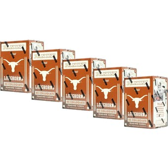 2015 Panini Texas Longhorns Multi-Sport Blaster Box (Lot of 5)