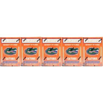2015 Panini Florida Gators Multi-Sport Blaster Box (Lot of 5)