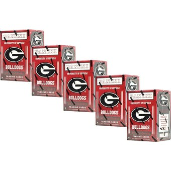 2015 Panini Georgia Bulldogs Multi-Sport Blaster Box (Lot of 5)
