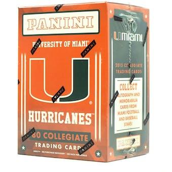 2015 Panini Miami Hurricanes Multi-Sport Blaster Box