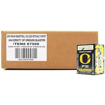 2015 Panini Oregon Ducks Multi-Sport Blaster 20-Box Case