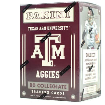 2015 Panini Texas A&M Aggies Multi-Sport Blaster Box