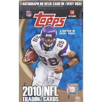 2010 Topps Football Hobby Box