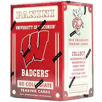 2015 Panini Wisconsin Badgers Multi-Sport Blaster Box