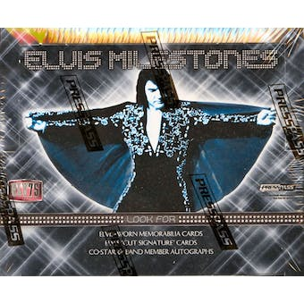 Elvis Milestones Box (2010 Press Pass)