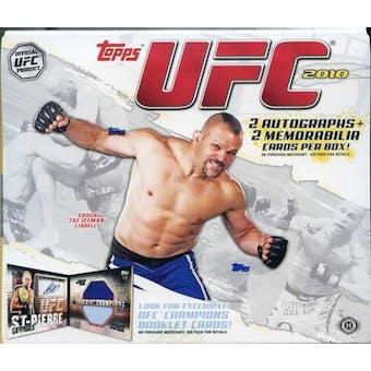 2010 Topps UFC Hobby Box