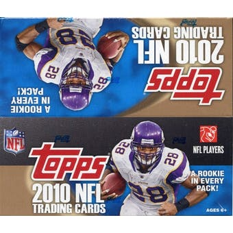 2010 Topps Football 24-Pack Box (Reed Buy)