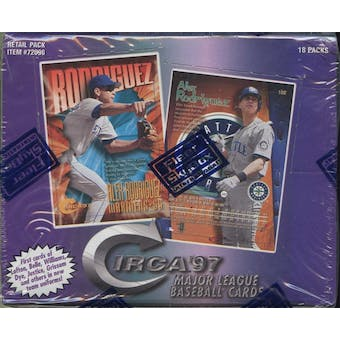 1997 Fleer Circa Baseball Retail Box
