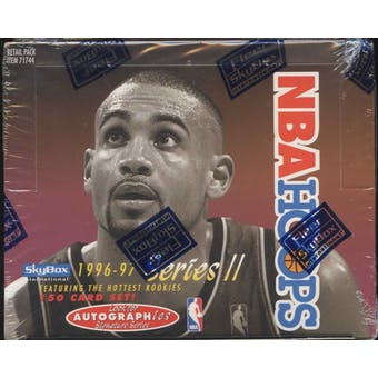 1996/97 Hoops Series 2 Basketball Retail Box
