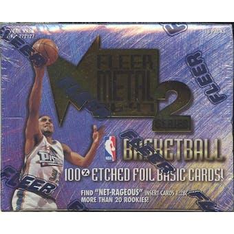 1996/97 Skybox Metal Series 2 Basketball Retail Box