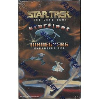 Star Trek: Starfleet Maneuvers Expansion Set Box (1996 Fleer)