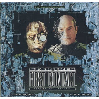 Star Trek First Contact Cinema Collection Box (1996 Fleer)